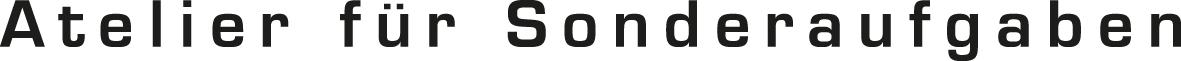 Logo Atelier für Sonderaufgaben